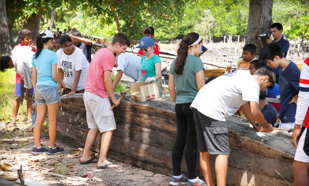 TIF Boat Restoration day-group